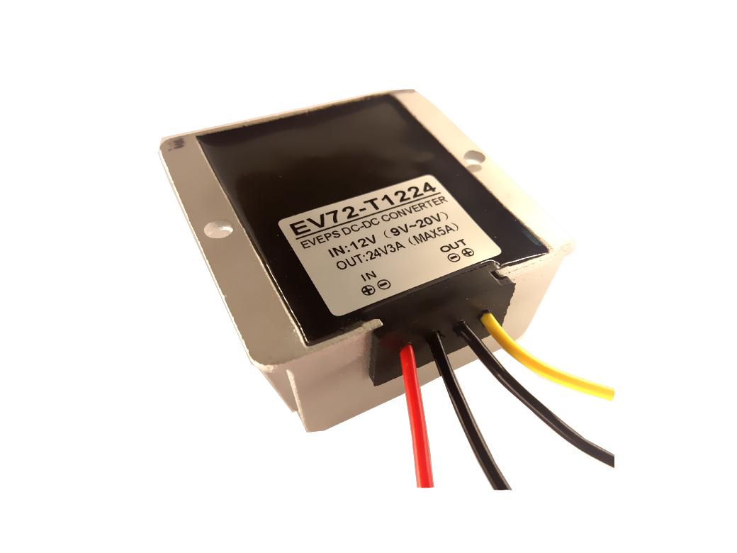 Ev72 T1224 Katstores 12v To 20v Dc Converter Circuit Wiring